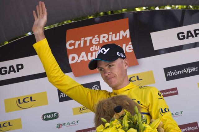 Chris Froome... (Photo Lionel Bonaventure, AFP)