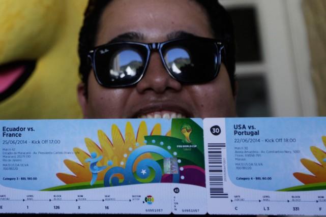 La FIFA s'attend à vendre plus ou moins... (Photo Ricardo Moraes, Reuters)