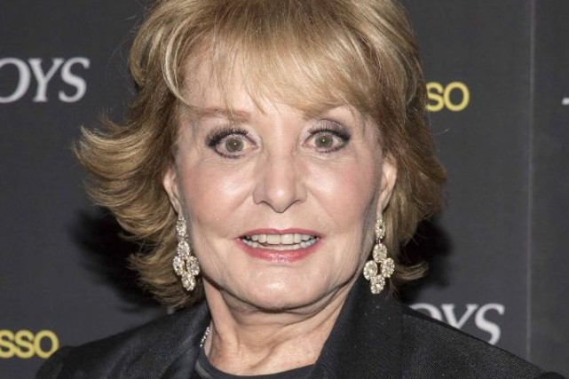 Barbara Walters... (Photo: Reuters)