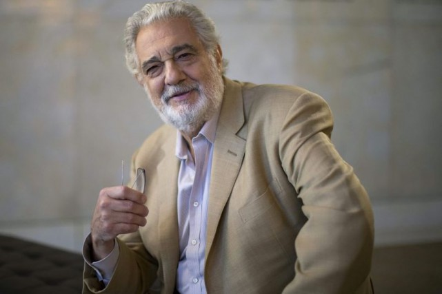 Placido Domingo... (Photo archives Reuters)
