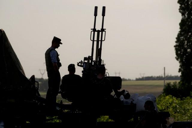 Les forces ukrainiennes ont lancé il y a... (PHOTO VADIM GHIRDA, ARCHIVES AP)
