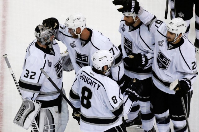 Les Kings de Los Angeles ne sont qu'à... (Photo Shannon Stapleton, Reuters)