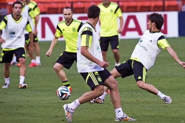 L'Espagne tentera de remporter un quatrième tournoi majeur... (Photo Paul J. Richards, AFP)