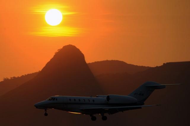 L'intersyndicale du personnel au sol des trois aéroports de Rio de Janeiro a... (Photo: AFP)