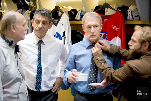 Mac Templeton (Éric Hoziel) et Jacques Mercier (Yvan... (La Presse, André Pichette)