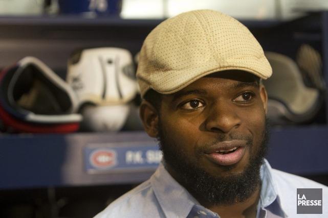 Le défenseur-étoile du Canadien de Montréal, P.K. Subban.... (PHOTO ROBERT SKINNER, LA PRESSE)