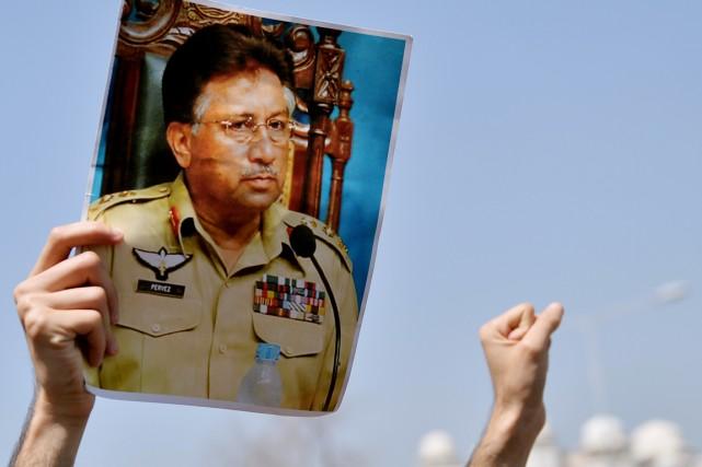 Le clan de Pervez Musharraf, 70 ans, qui... (PHOTO AAMIR QURESHI, ARCHIVES AFP)