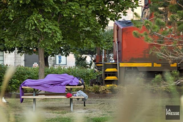 Les sans-abri rencontrés par les intervenants du programme... (Photo David Boily, La Presse)