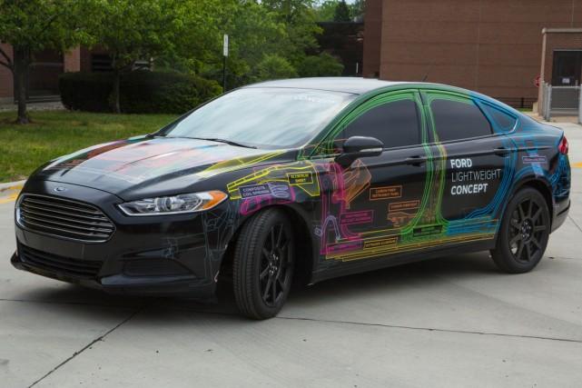 Les ingénieurs de Ford ont allégé la Fusion... (Photo fournie par Ford)