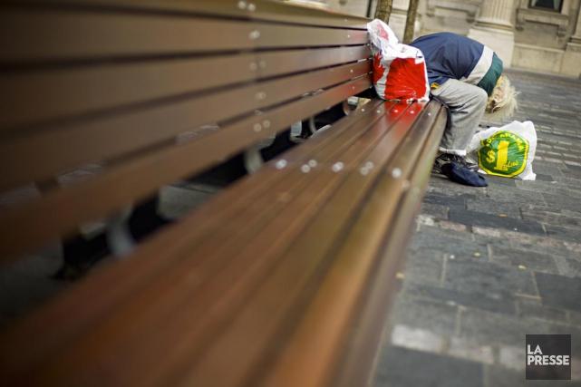 Actuellement, un sans-abri doit répondre à certains critères... (PHOTO ARCHIVES, LA PRESSE)