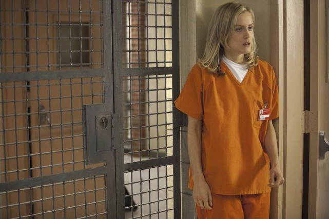 Dans la seconde saison de Orange Is The... (Photo: fournie par Netflix)