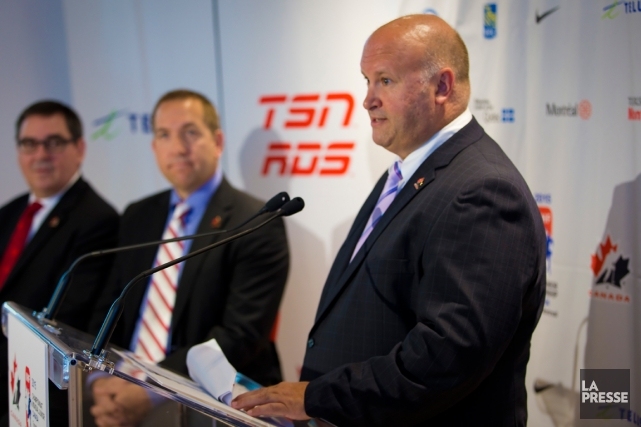 Benoit Groulx a été nommé entraîneur-chef d'Équipe Canada... (Photo André Pichette, La Presse)