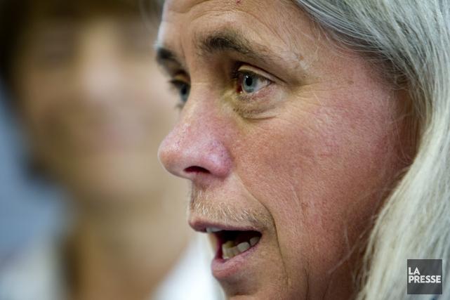 Manon Massé,députée de Québec solidaire... (Photo Marco Campanozzi, Archives La Presse)