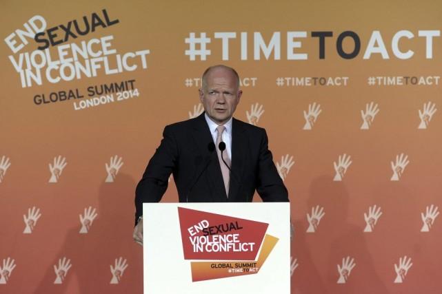 William Hague a estimé que le protocole, le... (PHOTO CARL COURT, AFP)