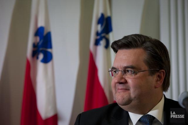Le maire Denis Coderre... (Photo Andre Pichette, La Presse)