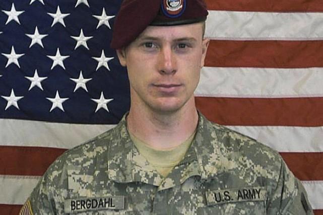 Bowe Berghdal étaitprisonnier des talibans en Afghanistan pendant... (Photo U.S. Army/REUTERS)
