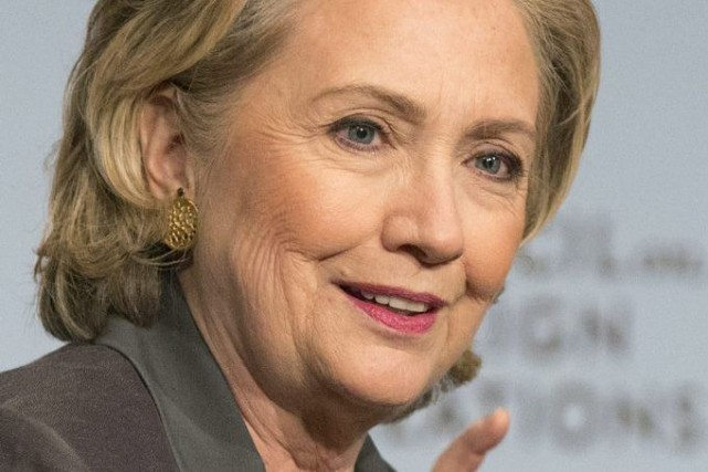 L'ancienne secrétaire d'État américaine Hillary Clinton a déclaré mercredi que... (PHOTO ANDREW KELLY, REUTERS)