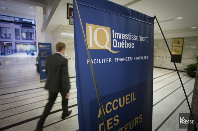 Le recul de 62% du bénéfice d'Investissement Québec... (Photo André Pichette, archives La Presse)
