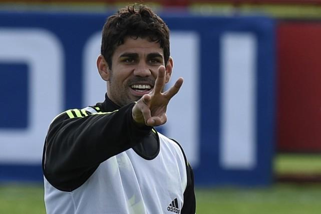 Diego Costa a renoncé à ses racines brésiliennes... (Photo Lluis Gene, AFP)