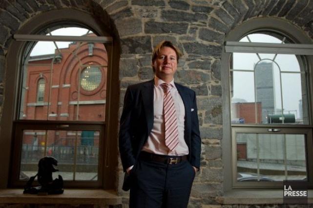 Eric Boyko, PDG de l'entreprise montréalaise Stingray Digital.... (Photo Hugo-Sébastien Aubert, archives La Presse)
