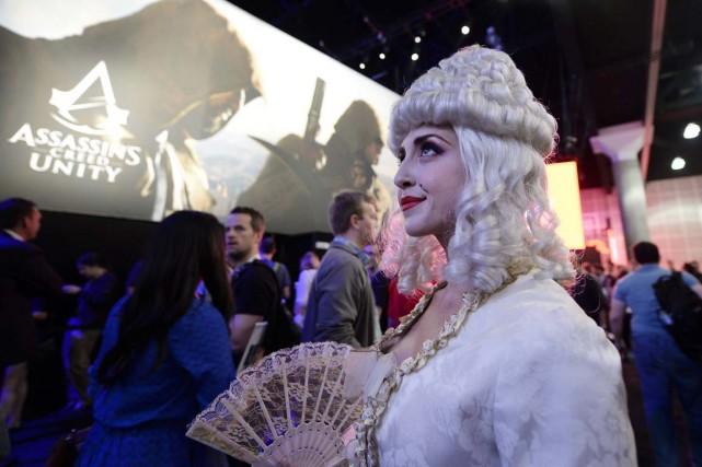 Le jeu Assassin's Creed Unity, d'Ubisoft -où apparaît... (Photo Kevork Djansezian, Reuters)