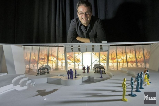 Éric Fournier, partenaire et premier producteur de Moment... (Photo: Ivanoh Demers, La Presse)