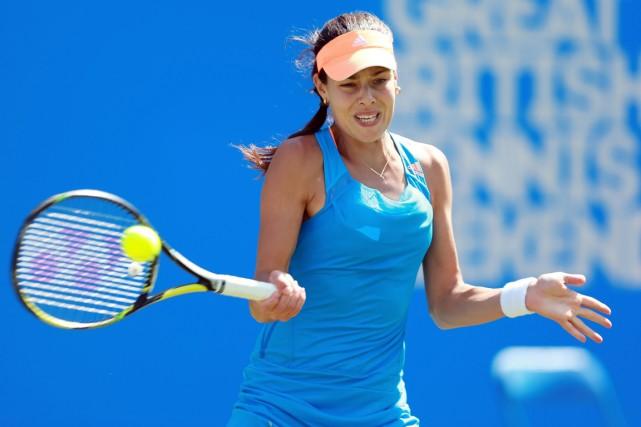 Ana Ivanovic... (Photo David Davies, AP)