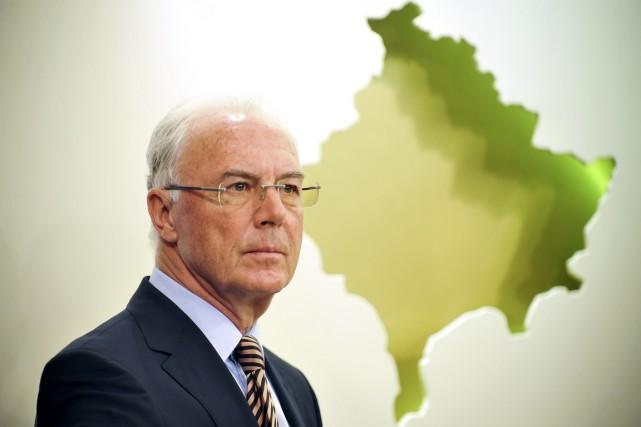 Franz Beckenbauer... (Photo Armend Nimani, archives AFP)