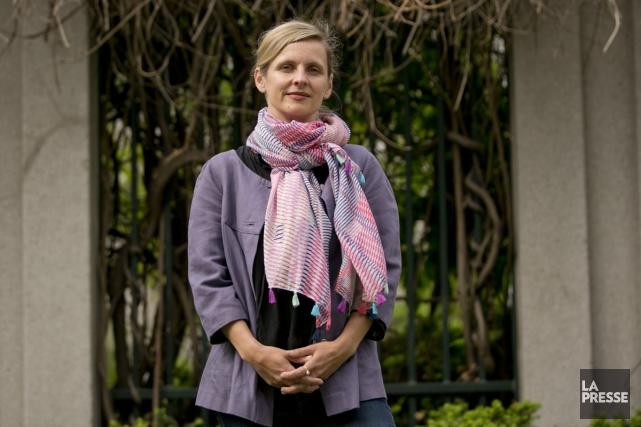 L'écrivaine américaine Leigh Newman est actuellement l'éditrice adjointe... (Photo: David Boily, La Presse)