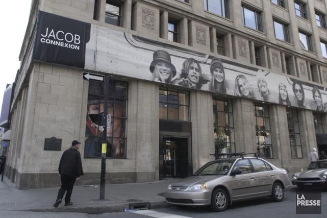L'annonce de la fermeture de Jacob a stupéfait... (Photo Robert Skinner, archives La Presse)