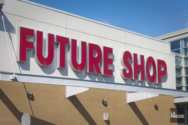 À l'instar des employés de Future Shop au... (Photo André Pichette, Archives La Presse)