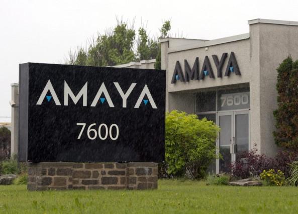 Les bureaux d'Amaya àPointe-Claire.... (Photo Ryan Remiorz, archives PC)