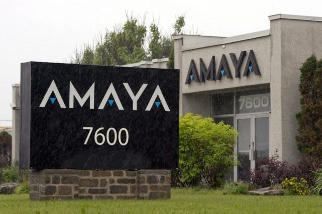 Le pari d'Amaya est énorme, mais la cagnotte... (Photo Ryan Remiorz, PC)