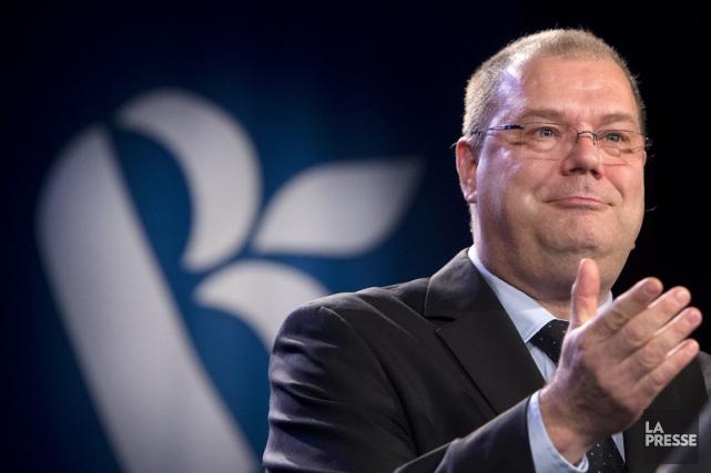 Mario Beaulieu, natif de Sherbrooke, a obtenu 53,5%... (PHOTO ROBERT SKINNER, LA PRESSE)