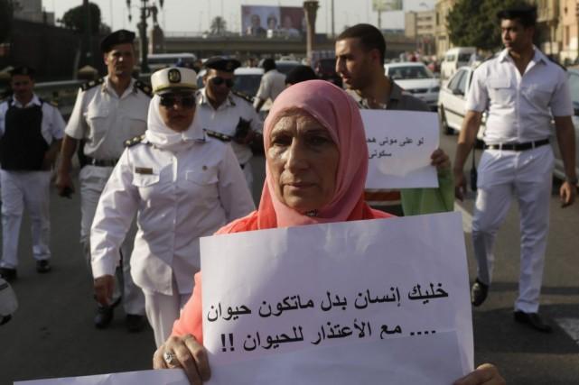 L'Égypte a adopté ce mois-ci sa toute première... (PHOTO ASMAA WAGUIH, REUTERS)