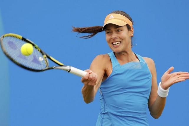 Ana Ivanovic... (PHOTO ANDREW YATES, AFP)
