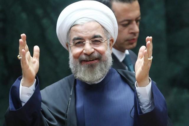 Samedi, le président Hassan Rohani n'a pas exclu... (PHOTO ADEM ALTAN, ARCHIVES AFP)