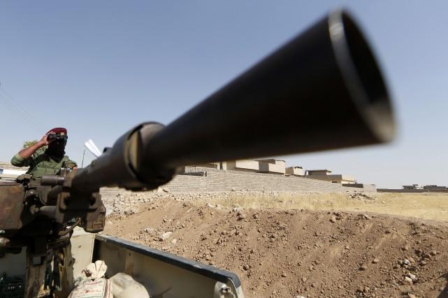 Les autorités irakiennes ont affirmé dimanche avoir «repris l'initiative» face... (Photo KARIM SAHIB, AFP)