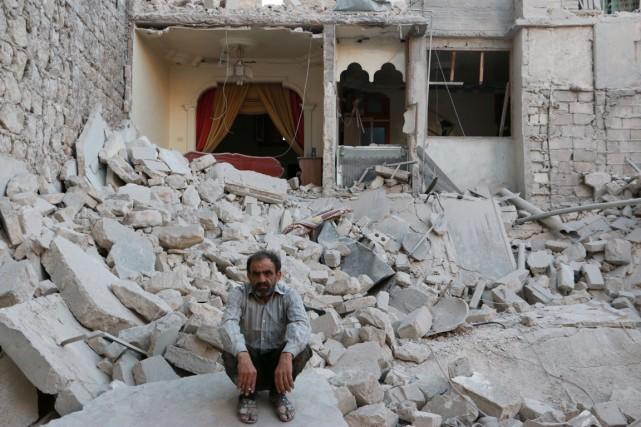 La guerre a laissé la Syrie dans un... (PHOTO BARAA AL-HALABI, AFP)