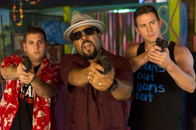 Jonah Hill, Ice Cube et Channing Tatum dans... (Photo: Sony Pictures)