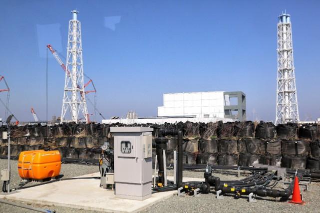 De nombreuses zones de la province de Fukushima... (Photo: AFP)