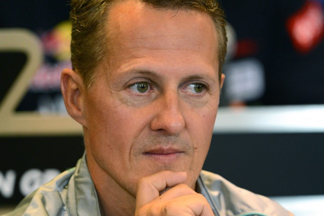 Michael Schumacher... (Photo DIMITAR DILKOFF, archives AFP)