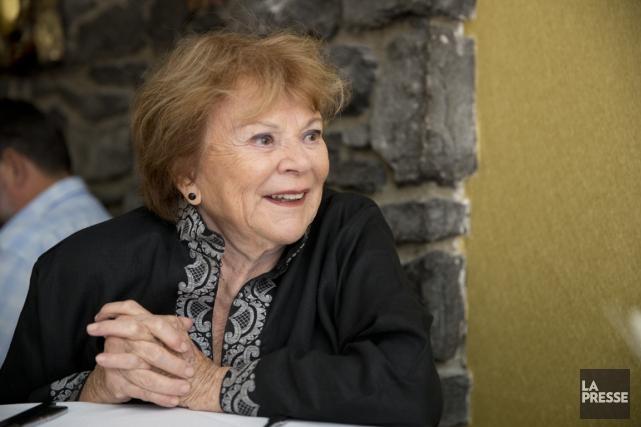 Janette Bertrand... (PHOTO FRANÇOIS ROY, LA PRESSE)