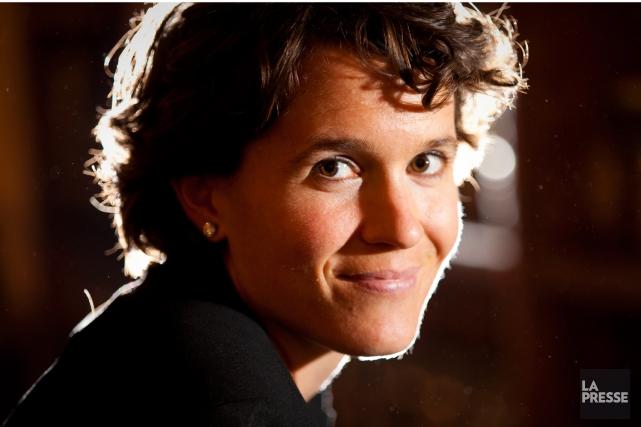 L'ex-cycliste Geneviève Jeanson se dit sereine quelques jours... (Photo André Pichette, La Presse)