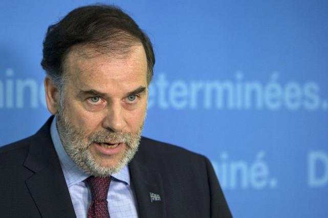 L'ancien député de Borduas, élu en 2012, a... (PHOTO ROBERT SKINNER, LA PRESSE)