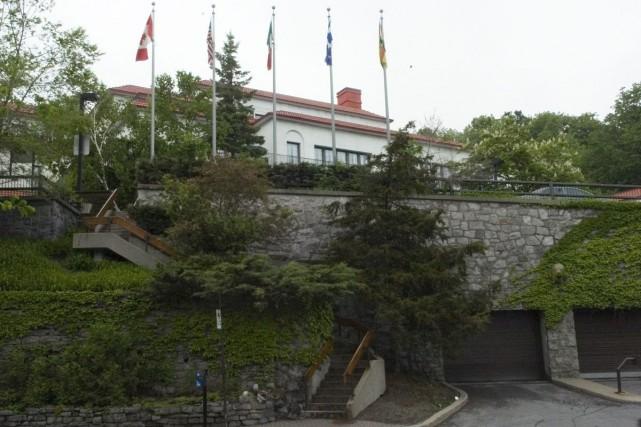 L'hôpital Shriners... (Archives La Presse)