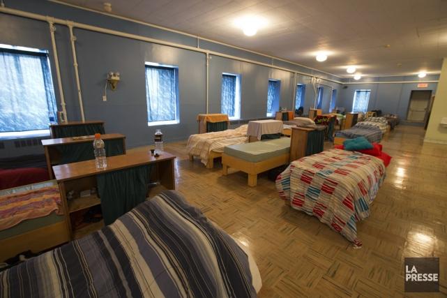 Le dortoir du Juvénat Saint-Louis-Marie n'accueillera plus d'élèves.... (PHOTO FRANÇOIS ROY, LA PRESSE)
