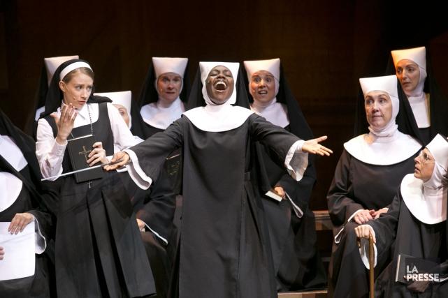Une douzaine de comédiennes forment le contingent de... (PHOTO HUGO-SÉBASTIEN AUBERT, LA PRESSE)