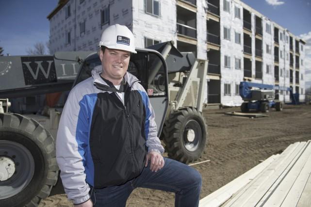 Nathan Wilhem, président et fondateur de Wilhelm Construction... (PHOTO FOURNIE PAR WILHEM CONSTRUCTION)