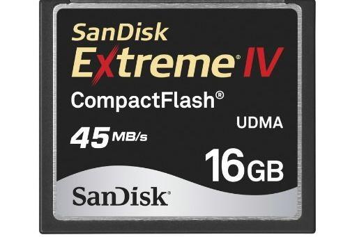 Une carte mémoire flash de SanDisk.... (Photo fournie par Sandisk)